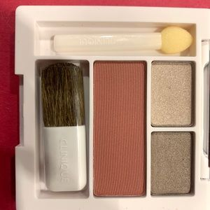 New - Clinique All About Shadow Duo and Blush